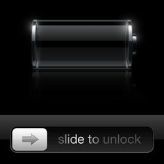 Slide to unlock to be gone
