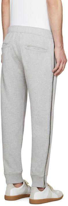 Diesel - Grey Zipper P-ZIPO Lounge Pants