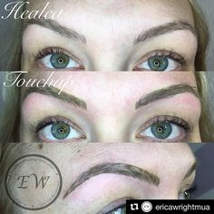 Another set of beautiful brows by #BROWBOSS Erica of @ericawrightmua! Tremendous job doll 🙌🙌🙌
