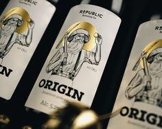 Republic Brewing Co - Brand Identity on Behance