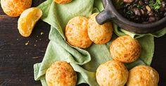 Cheesy bread puffs