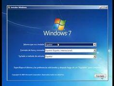 Formatear Pc Sin CD-instalar Cualquier version Windows7-Instalar Todos L...