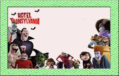 Hotel Transylvania: Invitaciones para Imprimir Gratis.