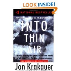 Amazon.com: Into Thin Air: A Personal Account of the Mt. Everest Disaster by Jon Krakauer