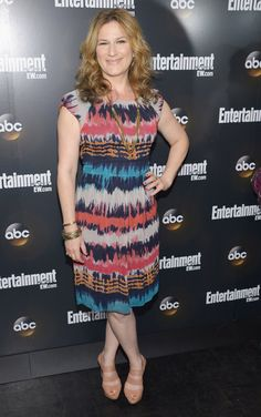 """Ana Gasteyer (""""Suburgatory"""") attends the Entertainment Weekly and ABC Upfront VIP Party at Dream Downtown on May 15, 2012 in New York City."""