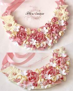 FlorAnna-Украшения.Цветы из полимерной глины