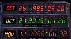 Happy Back to the Future Day - 21.10.2015