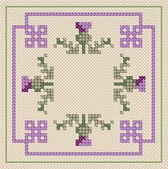 cross stitch biscornu patterns - Google Search