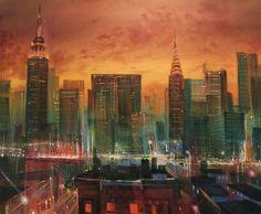 New York the Emerald City by Tom Shropshire