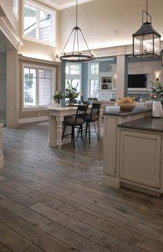 Gray hardwood floors xoxo
