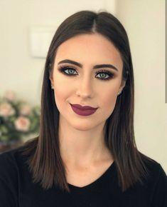 by Make-up/Hair Artist▪️ Full Makeup, Sexy Makeup, Girls Makeup, Glam Makeup, Pretty Makeup, Makeup Inspo, Makeup Eyeshadow, Makeup Inspiration, Makeup Tips