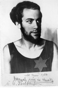Kursenai, Lithuania, Yekhezkel Fleisher. The photograph was taken immediately after his release from the Red Prison in Siauliai, where 142 Jews were murdered. He was released at the same time as another 800 Jews.