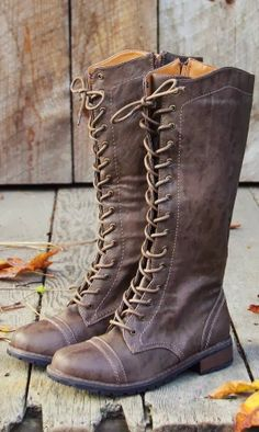 Winter Style Amazing Grey Tan Leather Long Boots for Ladies