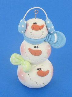 Polyform™ Snowball Stack Ornament by Helen Terlalis Dorn