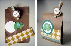 Inexpensive Baby Shower Favors Ideas | Elephant Baby Shower Favor Bags