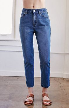 Steamboat Blue Girlfriend Jeans