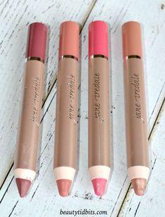 Jane Iredale PlayOn Lip Crayons Fall 2015 - Luscious, Yummy, Charming and Blissful