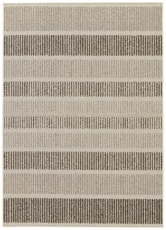 Knox Paloma/Phantom Rug - Amethyst Home Stripe out with Cado: this easy-care, textural indoor/outdoor look is constructed in 1 percent polypropylene for durability and delivers great style in summer-soft shades of Paloma and Indoor Outdoor Area Rugs, Indoor Rugs, Diy Carpet, Rugs On Carpet, Rug Texture, Black Furniture, Outdoor Furniture, Carpet Cleaners, Carpet Runner