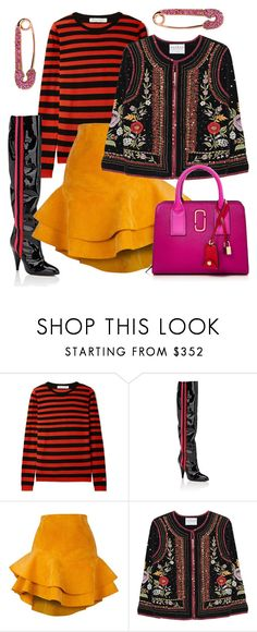 """""""n.t."""" by steffilovesyou88 ❤ liked on Polyvore featuring Bella Freud, Alchimia Di Ballin, Siobhan Molloy, Velvet by Graham & Spencer and Marc Jacobs"""