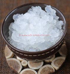 graines de kephir de fruits Kombucha, Sugar, Food, Fermented Foods, Coconut Water, Cooker Recipes, Drinks, Essen