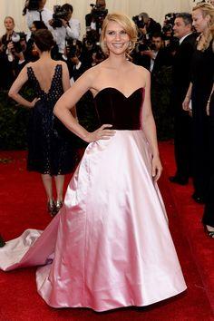 Claire Danes in Oscar de la Renta