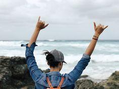 Hanging loose in Hawaii x @neitherherenorthere