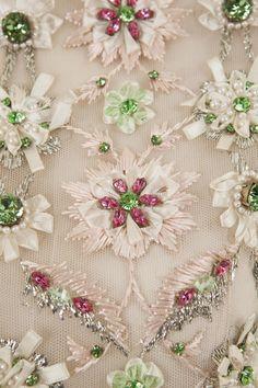 Dior haute couture Swarovski Crystal Embellished Details