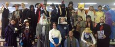 Parade of literary characters | Melbourne High School Library