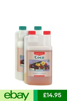 Canna Coco A + B Complete Plant Nutrient For Veg And Flower Hydroponic Hydroponics, Ph, Bloom, Patio, Garden, Flowers, Plants, Ebay, Yard
