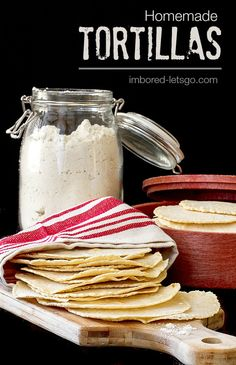 Homemade Tortillas are so fresh and easy!  My notes:  these were easy to make and tasty!!