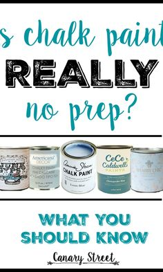 The best chalk paint paint tips for beginners.  Easy to follow tips and tricks for learning to use chalk paint. The perfect tutorial for a new painter.