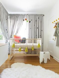 A simplistic and fun nursery!
