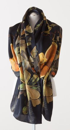Exotic Garden Scarf - The Museum Shop of The Art Institute of Chicago