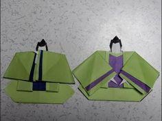 折り紙のおひな様 五人囃子の笛と謡の折り方作り方 - YouTube Origami, Bullet Journal, Decoration, Youtube, Crafts, Paper Dolls, Paper Envelopes, Decor, Manualidades