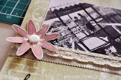 Página de scrapbook #PAP #tutorial #scrapbook #DIY #papercraft