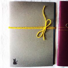 My Little Cat Mini Handmade Notebook