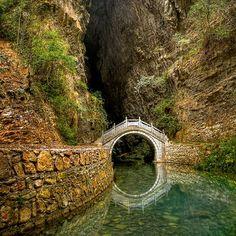 Moonbridge, Zhangjiajie, China