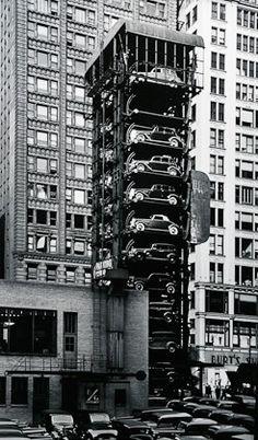 Chicago parking garage..1936