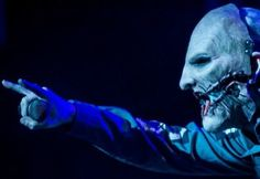 Corey Taylor Metal horns