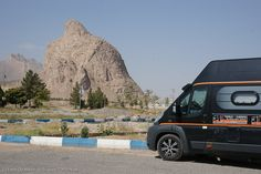 Eagle mountain, near Taft iran Iran, Camper, Fiat Ducato, Camping Car, Kazakhstan, Road Trip, Eagle, Turkey, Mountain