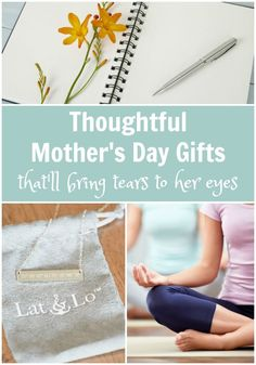 I love these thoughtful Mother's Day gift ideas! Especially the necklace with the latitude-longtitude coordinates from your special place on earth. Such a lovely gift for the special mom in your life! #sp #latandlo #whereareyouanchored