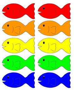 Go Fish Printable Game ATL.p3.3- Remembers and follows directions The child will remember who the color of fish they need. Also the child will know how to follow the directions of taking turns and when it is their turn.