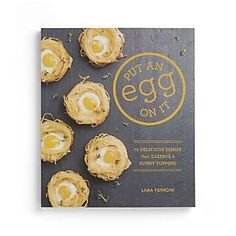 Put an Egg on It Cookbook#LGLimitlessDesign & #Contest