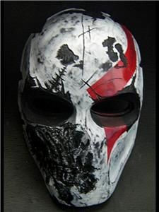 Army of Two RIOS 40th Paintball Mask God of War