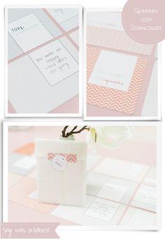 Freebie und Giveaway: Frl. K. sagt Ja Postkartenset | Hochzeitsblog Fräulein K. Sagt Ja