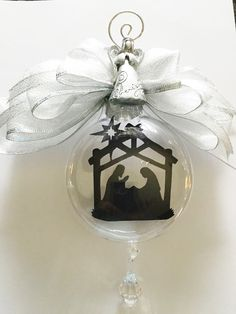Oh Holy Night Ornament Personalized Photo Ornaments, Holy Night, Beautiful Gifts, Christmas Bulbs, Holiday Decor, O Holy Night, Christmas Light Bulbs