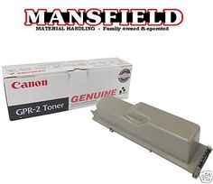You are buying one Genuine Canon GPR-2 Toner Cartridge.