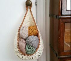 Free Crochet Hanging Basket Pattern | SimplyMaggie.com …