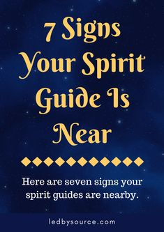 7 Signs Your Spirit Guide Is Near - Ledbysource - 7 Signs Your Spirit Guide Is Near Here are seven clear signs that your spirit guide is nearby and communicating with you, learn how to further tune in and connect with them. Angel Guidance, Spiritual Guidance, Spiritual Awakening, Spiritual Quotes, Awakening Quotes, Spiritual Meditation, Meditation Quotes, Healing Quotes, Prayer Quotes