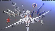 Woman Mechanic, Android Art, Weapon Concept Art, Robot Design, Cyberpunk, Location History, Character Design, Shit Happens, Illustration